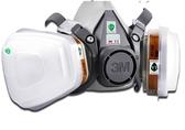 防毒面具噴漆專用防護面罩工業粉塵防毒口罩化工氣體防異味