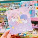 正版授權 三麗鷗卡片 雙子星 KIKI&LALA 三摺卡片 生日卡 萬用卡片 卡片 附信封 B款 COCOS DA030