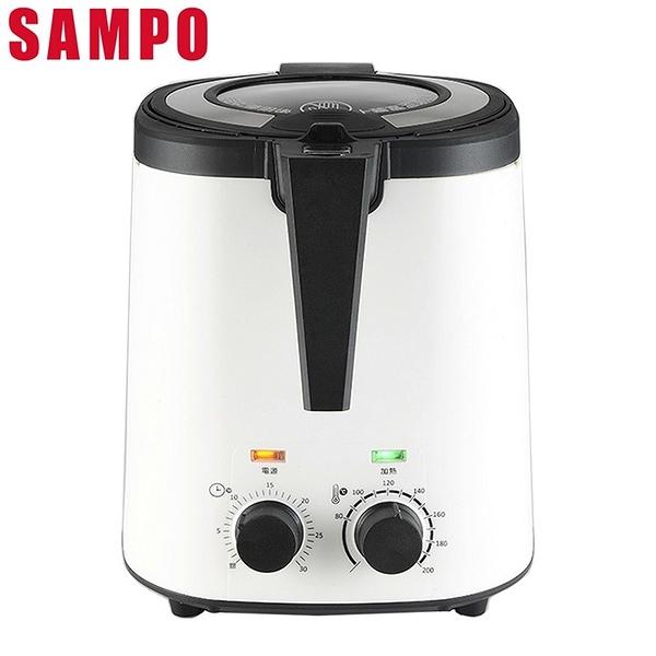 SAMPO聲寶 3L健康油切氣炸鍋 KZ-L19303BL