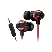 【送收納盒】JVC HA-FX33XM 紅 入耳式耳機 重低音系列 線控/麥克風