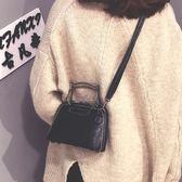 超火上新包包女新款潮韓版復古時尚百搭斜挎包手提單肩包 全館88折