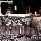 床包兩用被組 / 雙人加大【經典皇家系列】含兩件枕套  100%精梳棉  戀家小舖台灣製AAL315