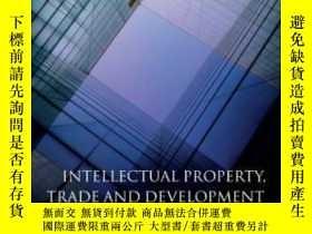二手書博民逛書店Intellectual罕見Property Trade And Development: Strategies
