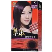 依必朗草本護髮染髮霜-5葡萄紅【愛買】
