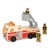 免運費《 美國 Melissa & Doug 》交通- 小人國,消防車╭★ JOYBUS歡樂寶貝