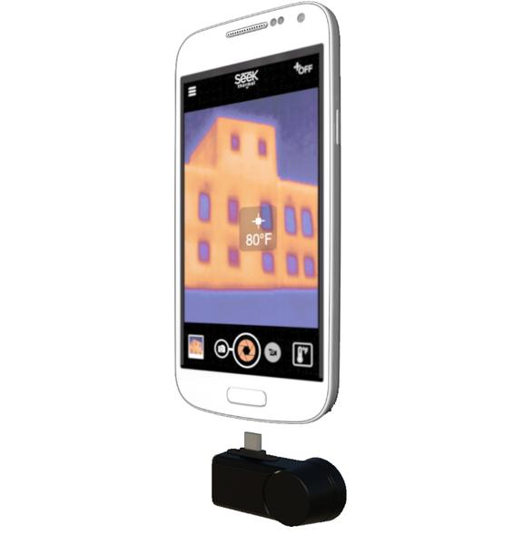 ::bonJOIE:: 美國進口 Seek Compact 手機專用熱感應鏡頭 Android 版 UW-AAA (盒裝) Advanced Thermal Camera Connector