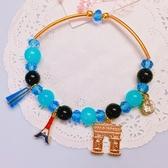 獨家設計 華麗多元素水晶串珠手環 手鍊