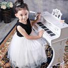 兒童 帶麥克風鋼琴寶寶女男孩玩具1-3-6-8歲音樂禮物 JL1041 TW『miss洛雨』
