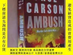 二手書博民逛書店罕見AmbushY85718 Paul Carson Arrow