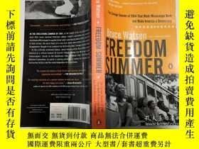 二手書博民逛書店英文原版歷史小說罕見Freedom Summer 自由之夏 平裝Y23200 Watson, Bruce PE