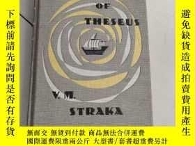 二手書博民逛書店SHIP罕見OF THESEUS(忒修斯之船)有附件Y6318 V.M. STRAKA WINGED SHOE