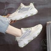 增高鞋女韓版百搭透氣網鞋厚底休閒增高運動鞋【小酒窩服飾】