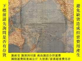 二手書博民逛書店罕見national geographic 美國國家地理地圖 1969年10月Pacific Ocean Floo