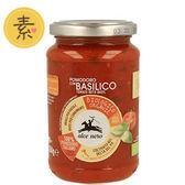 有機尼諾 有機番茄羅勒義大利麵醬 350g/瓶