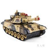 遙控坦克親子對戰可發射充電動兒童越野玩具履帶式男孩汽車 zm4774『男人範』TW