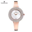 施華洛世奇 Crystal Rose 玫金色彩白光芒手錶