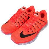【四折特賣】Nike 慢跑鞋 Wmns Air Max 2016 全氣墊 橘 黑 360 女鞋 舒適避震【PUMP306】 806772-600