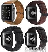 適用蘋果手錶錶帶iwatch2/3錶帶油蠟apple watch5代男女款潮 遇見生活