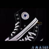 帆布鞋  高筒黑色  CONVERSE ALL STAR   【181】