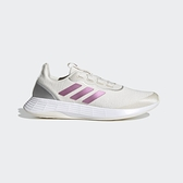 Adidas QT Racer Sport 女款米白色運動訓練慢跑鞋-NO.FY5679
