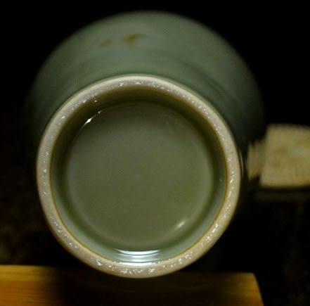 [協貿國際]  青瓷荷花瓶插花擺件獨件收藏品 (1入)