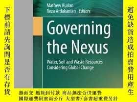 二手書博民逛書店Governing罕見The NexusY380406 Mathew Kurian Springer 出版2