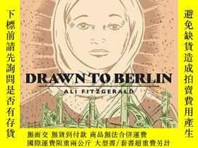 二手書博民逛書店Drawn罕見To Berlin Comics Workshops In Refugee Shelters And