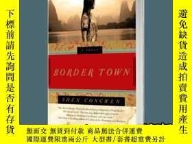 二手書博民逛書店邊城罕見英文原版 Border TownY335736 ISBN