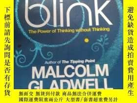 二手書博民逛書店英文原版罕見Blink : The Power of Think