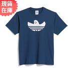 【現貨】Adidas SHMOOFOIL 男裝 女裝 短袖 休閒 聯名 幽靈 精靈 棉質 藍【運動世界】GL9955