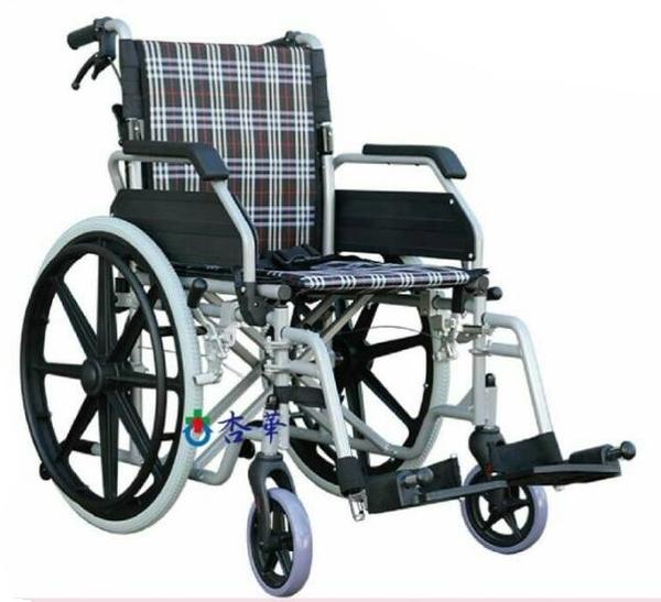 富凱源機械式輪椅(未滅菌) ( 鋁製輪椅脊損型 -FK361)