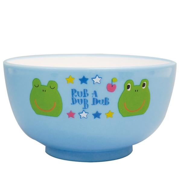 【日本製】【Rub a dub dub】輕巧型 可愛湯碗 青蛙圖案 SD-9174 - Rubadubdub