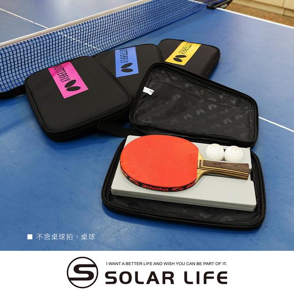 蝴蝶牌 BUTTERFLY 桌球拍套袋.乒乓球拍包可放兩支負板刀板直板
