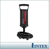 【INTEX】手壓充氣幫浦/打氣筒-高29cm(充氣商品加購品)