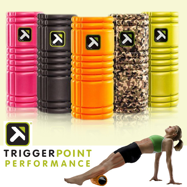 【富樂屋】【TRIGGER POINT】The Grid 健康按摩滾筒/瑜珈滾筒