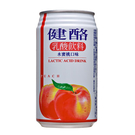 ●健酪乳酸飲料水蜜桃320ml-6罐【合迷雅好物超級商城】