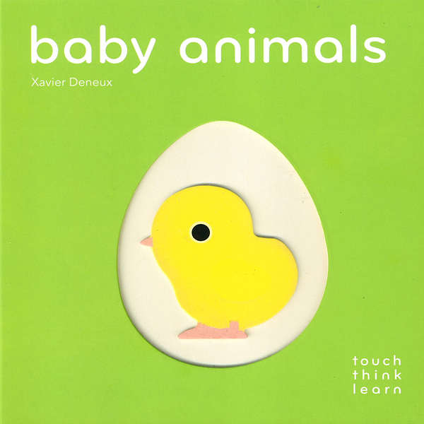 Touch Think Learn:Baby Animals 動物寶寶 厚紙硬頁認知書