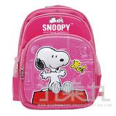 snoopy立體造型護脊透氣書包-粉紅 DK-5706C