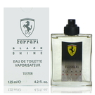Ferrari Black Shine 光速男性淡香水 125ml Test 包裝