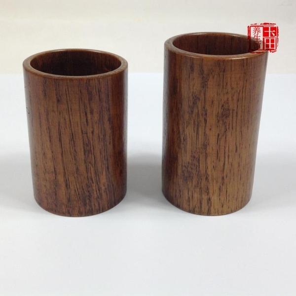 實木筷子筒木質大號瀝水籠盒家用創意筷架收納盒餐廳用簡約圓形 新年禮物