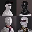 模特頭 玻璃鋼頭模 VR眼鏡帽子假人頭 ...