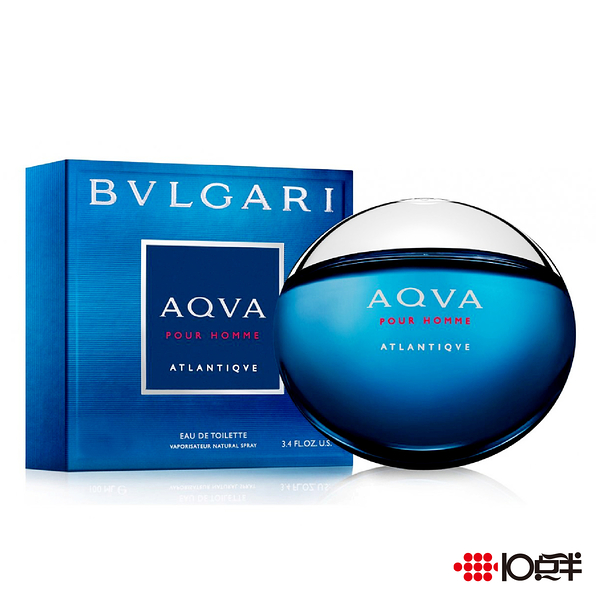 BVLGARI 勁藍水能量男性淡香水 100ml   *10點半美妝館*