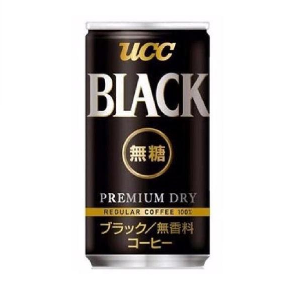 【麻吉熊】日本UCC BLACK無糖咖啡185g