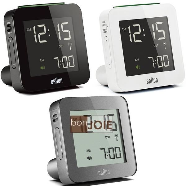 ::bonJOIE:: 美國進口 Braun BNC009 Alarm Clock 百靈數位鬧鐘 (全新盒裝) 博朗 時鐘 德國