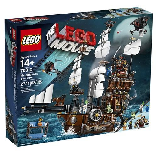 LEGO 樂高 Movie 70810 Metal Beard s Sea Cow