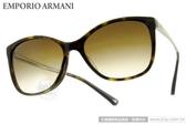 EMPORIO ARMANI 太陽眼鏡 EA4025F 502613 (琥珀金) 經典LOGO簡約貓眼款 墨鏡 # 金橘眼鏡