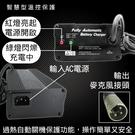 SW系列24V4A充電器(120W)(電動車專用) 鋰鐵電池/鉛酸電池 適用