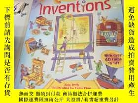 二手書博民逛書店See罕見Inside: Inventions 看裏面:發明 紙