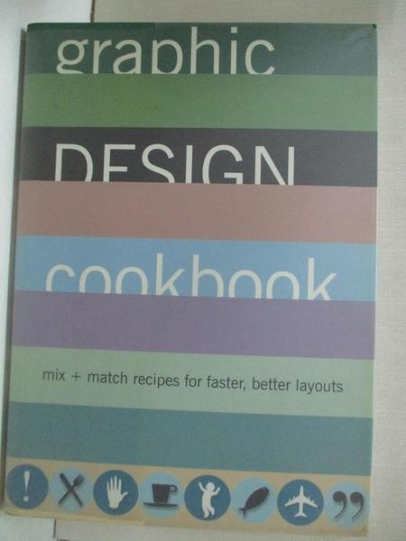 【書寶二手書T1/廣告_HMN】Graphic Design Cookbook: Mix & Match Recipes…