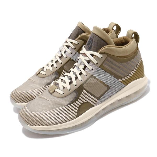 Nike LeBron X JE Icon QS John Elliott 米白 卡其 男鞋 運動鞋 籃球鞋 【ACS】 AQ0114-200